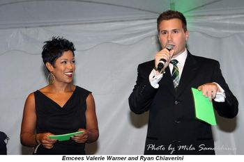 Blog 3 - Emcees Valerie Warner and Ryan Chiaverini