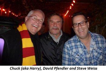 Blog 3 - Chuck (aka Harry), David Pfendler and Steve Weiss