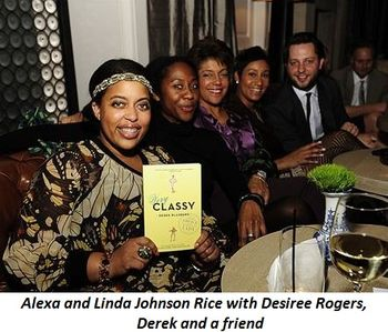 Blog 3 - Alexa and Linda Johnson Rice with Desiree Rogers and Derek