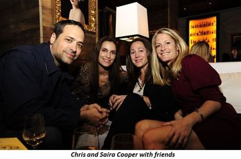 Blog 4 - Saira and Chris Cooper with friends