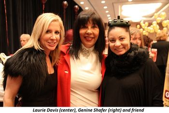 Blog 14 - Laurie Davis (center), Genine Shafer and friend