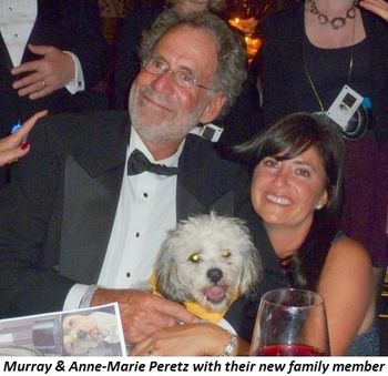 Blog 3 - Murry and Anne-Marie Peretz with new family member