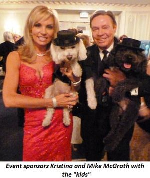 """Blog 4 - Event sponsors Mike and Kristina McGrath with the """"kids"""""""