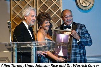 Blog 1 - Allen Turner, Linda Johnson Rice and Dr.Warrick Carter