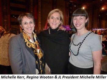 Blog 2 - Michelle Kerr, Regina Wooten and President Michelle Miller