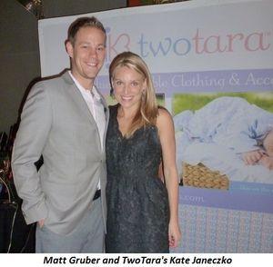 Blog 9 - Matt Gruber and TwoTara's Kate Janeczko