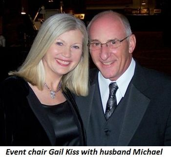 Blog 2 - Event chair Gail Kiss with husband Michael