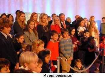 Blog 9 - A rapt audience!