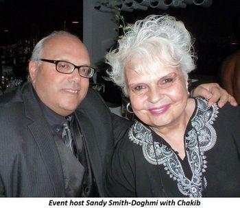 Blog 3 - Event hostess Sandy Smith-Doghmi and Chakib