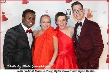 Blog 1 - With co-host Marcus Riley, Kyler Powell and Ryan Beshel