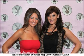 Blog 3 - Jessica Workman and Miss May 2009 Crystal McCahill