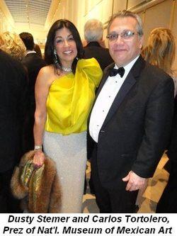 Blog 6 - Dusty Stemer and Carlos Tortolero, Prez of Nat'l. Museum of Mexican Art