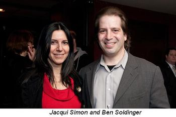 Jacqui Simon and Ben Soldinger