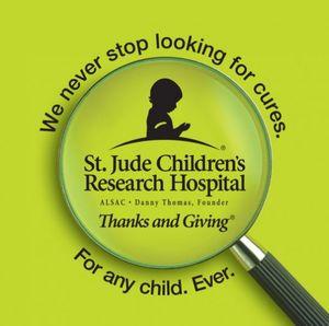 Blog 3 - St. Jude logo