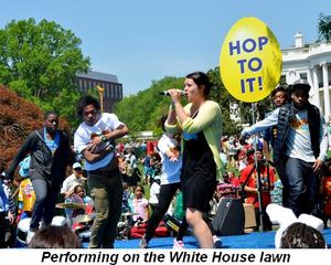 Blog 2 - Performing on the White House lawn