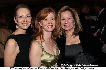 Blog 3 - WB members Cheryl Tama Oblander, Liz Sharp and Kathy Swien