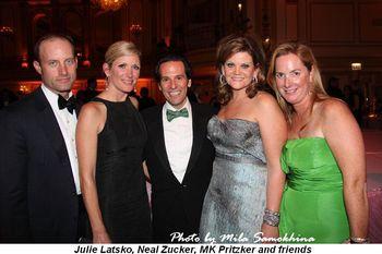 Blog 4 - Julie Latsko, Neal Zucker, MK Pritzker and friends