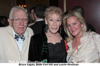 Blog 6 - Bruce Sagan, Bette Cerf Hill and Leslie Hindman