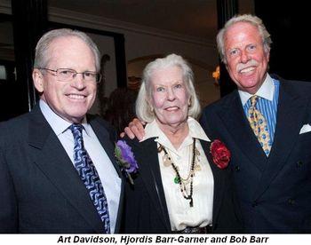 Blog 8 - Art Davidson, Hjordis Barr-Garner and Bob Barr