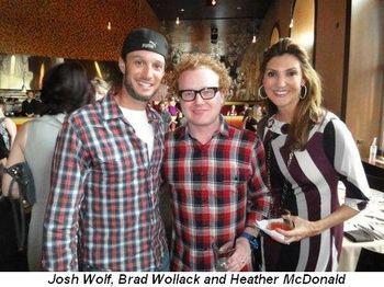 Blog 2 - Josh Wolf, Brad Wollack and Heather McDonald