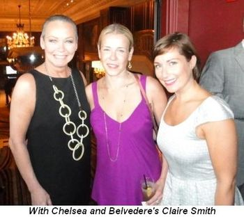 Blog 4 - With Chelsea and Belvedere's Claire Smith