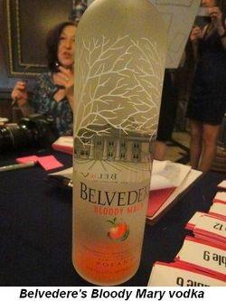 Blog 5 - Belvedere Bloody Mary vodka