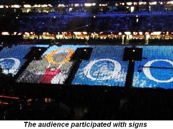 Blog 8 - Audience participation with signs