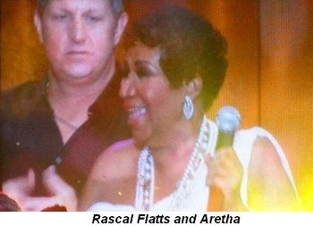 Blog 40 - Rascal Flatts and Aretha