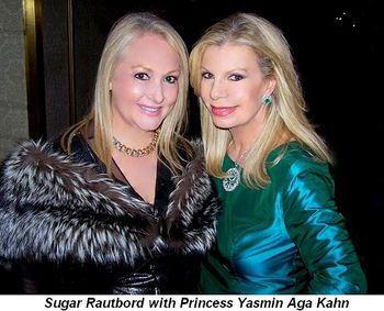 Blog 1 - Sugar Rautbord and Princess Yasmin Aga Khan