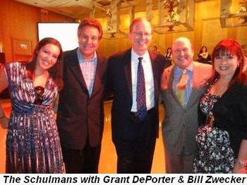 Blog 8 - The Schulmans with Grant DePorter and Bill Zwecker