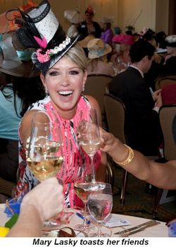 Blog - Mary Lasky toasts her friends