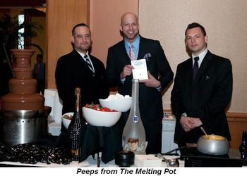 Blog 4 - Melting Pot restaurant peeps