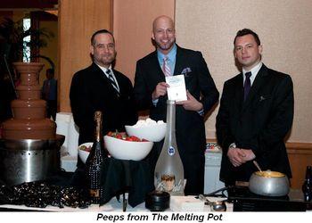 Blog 4 - Melting Pot restaurant peeps