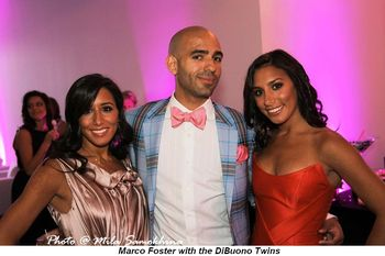 Blog 12 - Marco Foster with DiBuono Twins