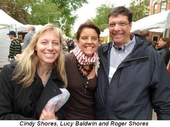 Blog 5 - Cindy Shores, Lucy Baldwin and Roger Shores
