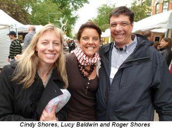 Blog 5 - Cindy Shores, Lucy Baldwin and Roger Shores