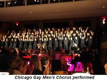 Blog 14 - Chicago Gay Men's Chorus performed