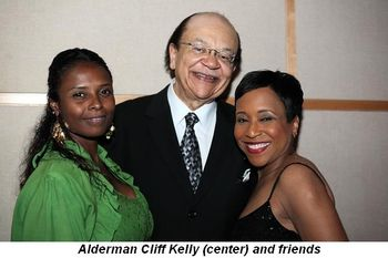 Blog 6 - Alderman Cliff Kelly (center) and friends