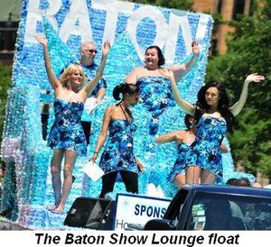 Blog 10 - The Baton Show Lounge float
