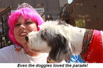 Blog 13 - Even the doggies loved the parade!