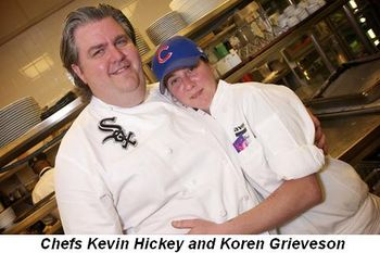 Blog 1 - Chefs Kevin Hickey and Koren Grieveson