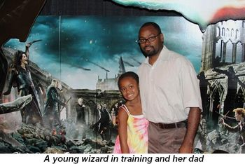 Blog 20 - A young wizard in training with her dad