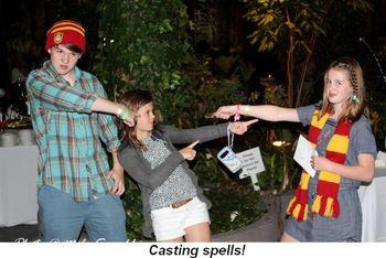 Blog 22 - Casting spells!