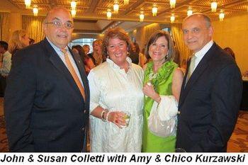 Blog 2 - John and Susan Colletti with Amy and Chico Kurzawski
