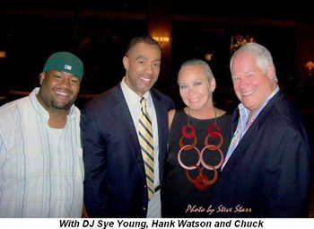 Blog 5 - With DJ Sye Young, Hank Watson and Chuck