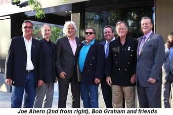 Blog 2 - Joe Ahern (2nd fromR), Bob Graham and friends