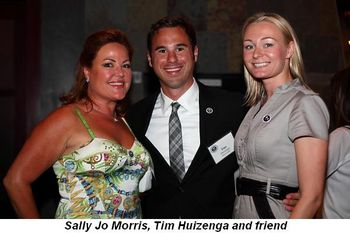 Blog 10 - Sally Jo Morris, Tim Huizenga and friend