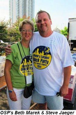 Blog 2 - OSP's Beth Marek and Steve Jaeger