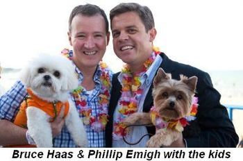 Blog 4 - Bruce Haas and Phillip Emigh with the kids