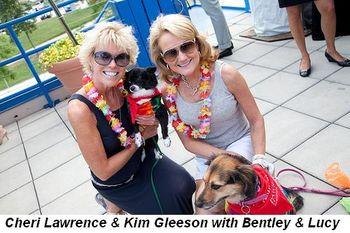 Blog 8 - Cheri Lawrence and Kim Gleeson with Bentley and Lucy